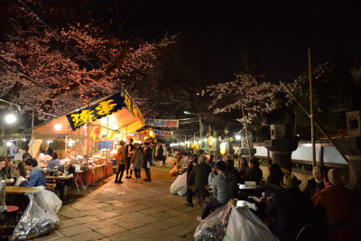 上野公園 屋台