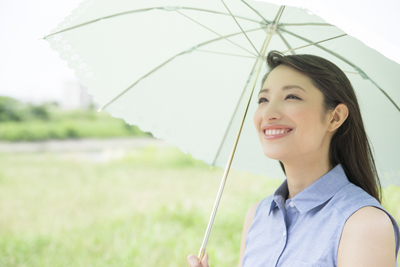 日傘 女性