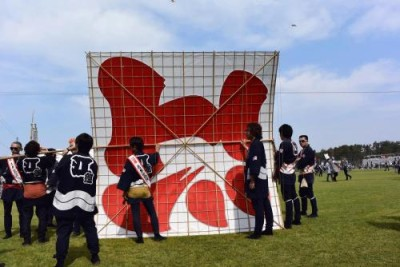 浜松祭り 凧揚げ合戦