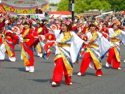 きんさいYOSAKOIパレード