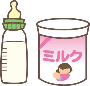 哺乳瓶 ミルク