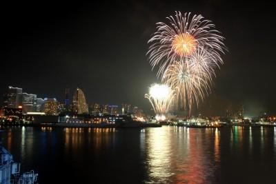 横浜開港祭 花火