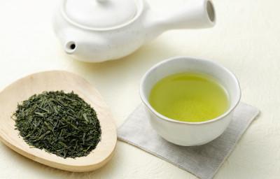 緑茶 にんにく