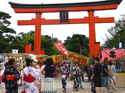 白山神社夏祭り