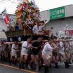 田熊山笠2017見どころ!追い山ルートとアクセス駐車場は?