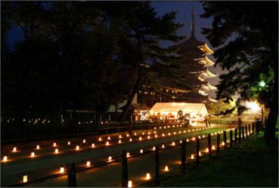 なら燈花会 興福寺