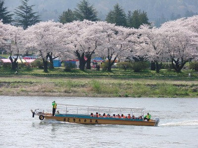北上川遊覧船