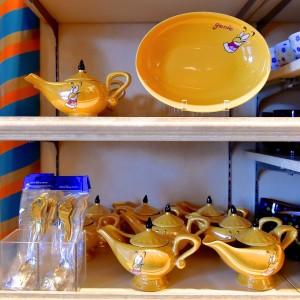 ジーニーのカレー皿