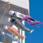 鯉のぼりがベランダで元気に泳ぐ!取り付け方と飾り方があります!