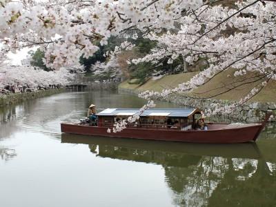 彦根城 屋形船