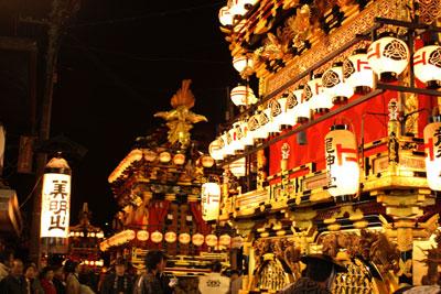 高山祭 夜祭