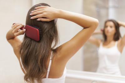 ブラッシング 髪