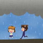 にわか雨とはどんな意味なの?通り雨や夕立との違いはあるのか?