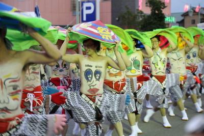 渋川へそ祭り