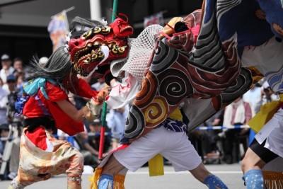 山王祭 獅子舞