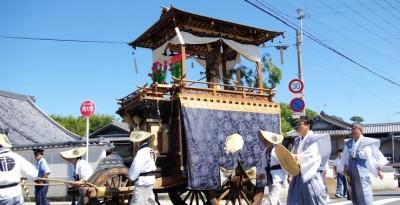 田辺祭 笠鉾