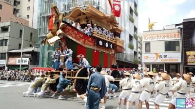 祇園祭 辻回り